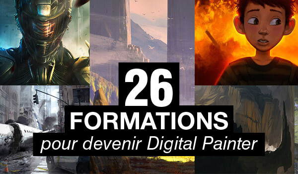 26 formations qui vous aideront à devenir Digital Painter