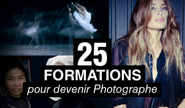 25 formations qui vous aideront à devenir Photographe