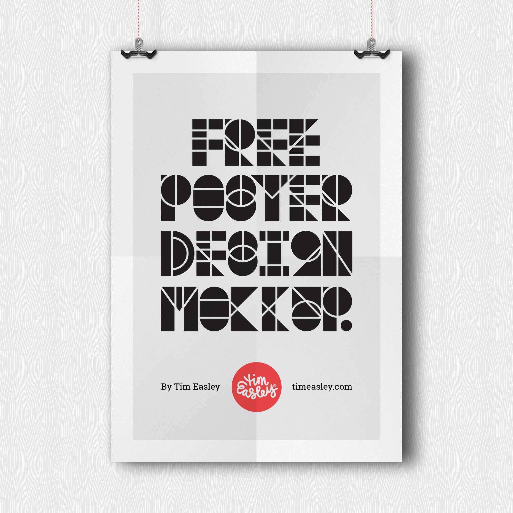 28 Mockups De Posters Gratuits Pour Mettre En Valeur Vos