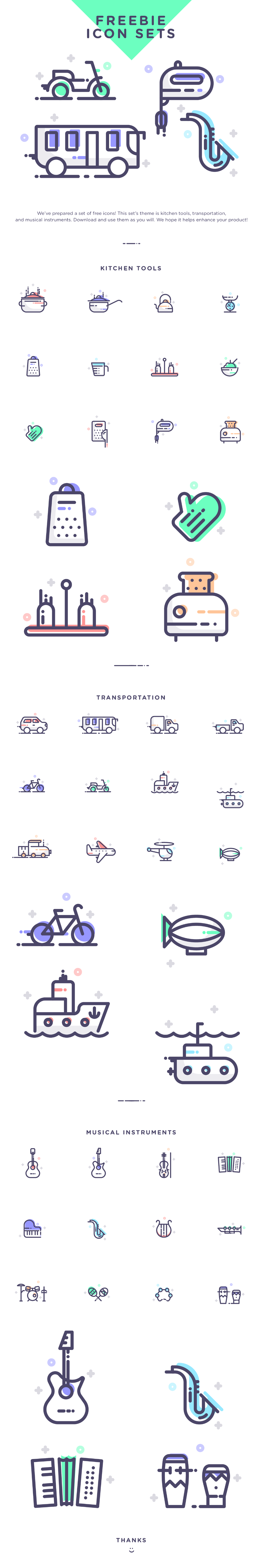freebie-icon-set