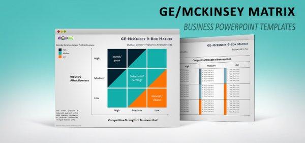 Présentation McKinsey / GE