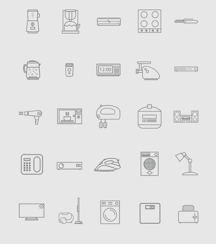 home-appliance-icons