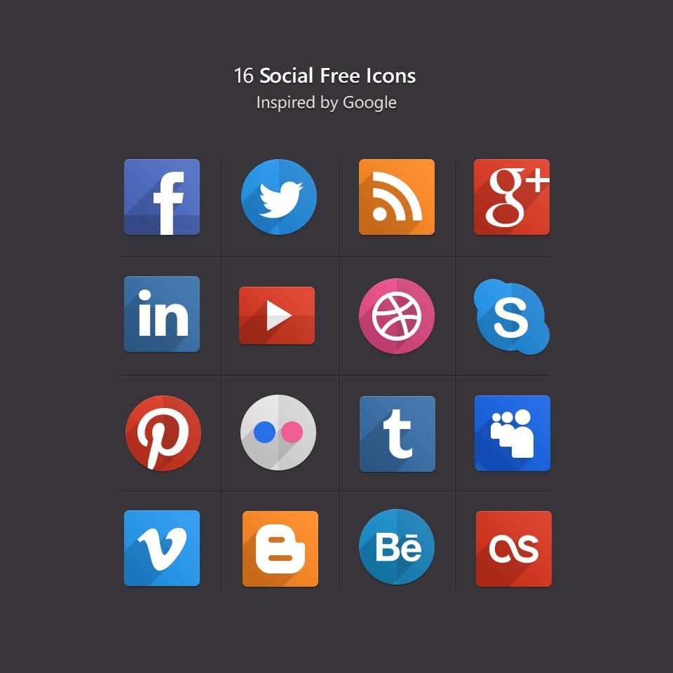 22 packs d u0026 39 ic u00f4nes de r u00e9seaux sociaux au top pour votre site