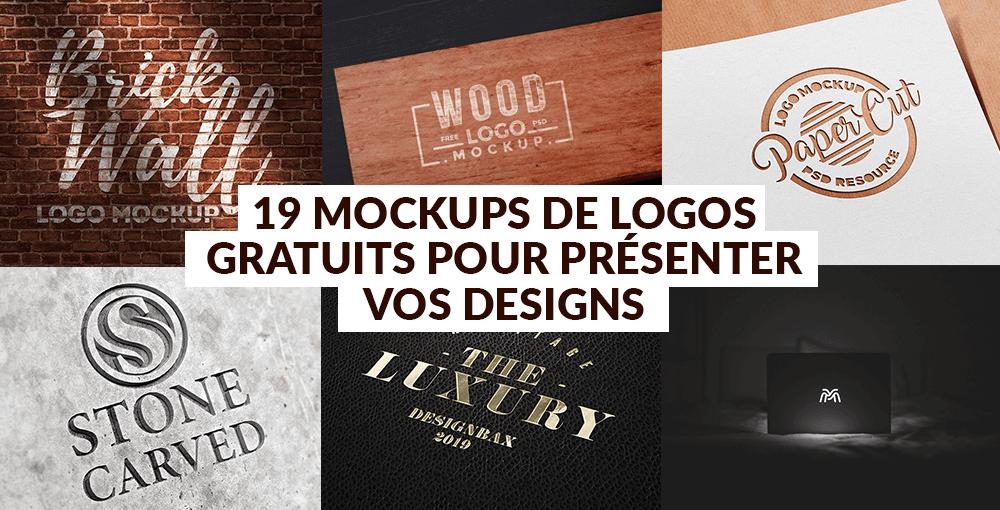 19 mockups de logos gratuits pour présenter vos designs