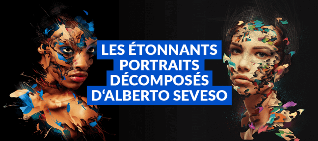 Les étonnants portraits décomposés d'Alberto Seveso