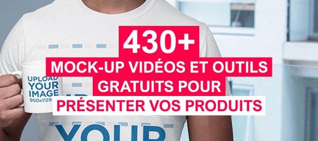+430 Mockups vidéos et outils gratuits pour présenter vos produits