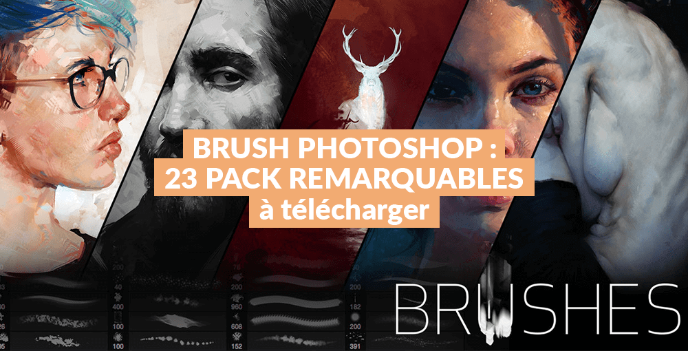 Brush Photoshop : 23 packs remarquables à télécharger