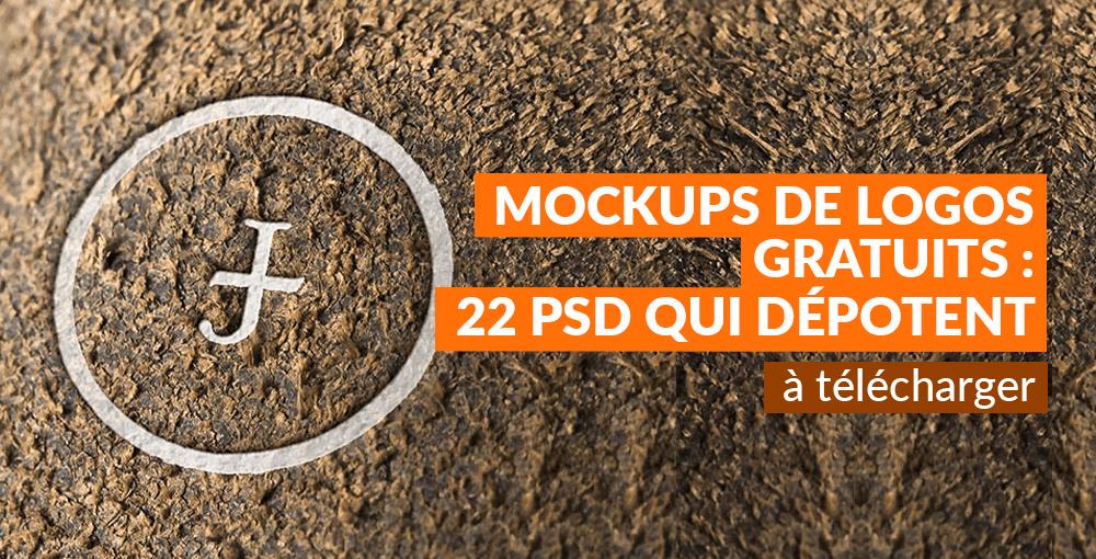 Mockups De Logos Gratuits 22 PSD Qui Dpotent Tlcharger