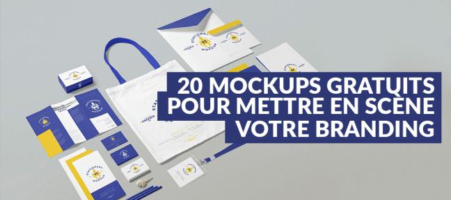 20 mockups gratuits pour mettre en scène votre branding