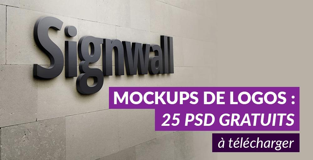 Favori Mockups de logos haute-qualité : 25 PSD gratuits, à télécharger IM82