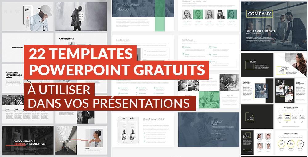 22 templates powerpoint gratuits  u00e0 utiliser dans vos