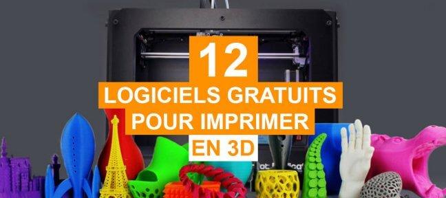 12 logiciels gratuits pour imprimer en 3D