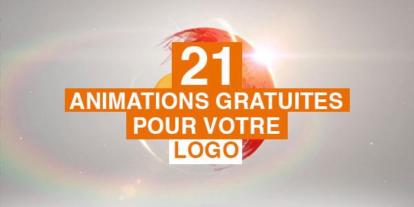21 animations gratuites pour votre logo