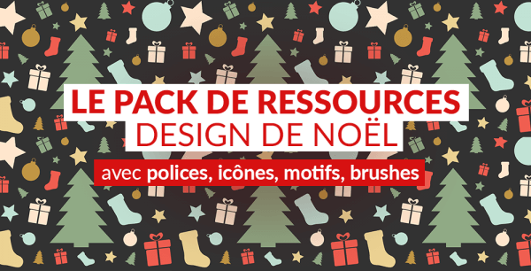 Le pack de ressources design de Noël