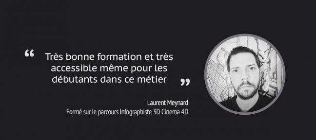 Formation Cinema 4D en ligne : le témoignage de Laurent