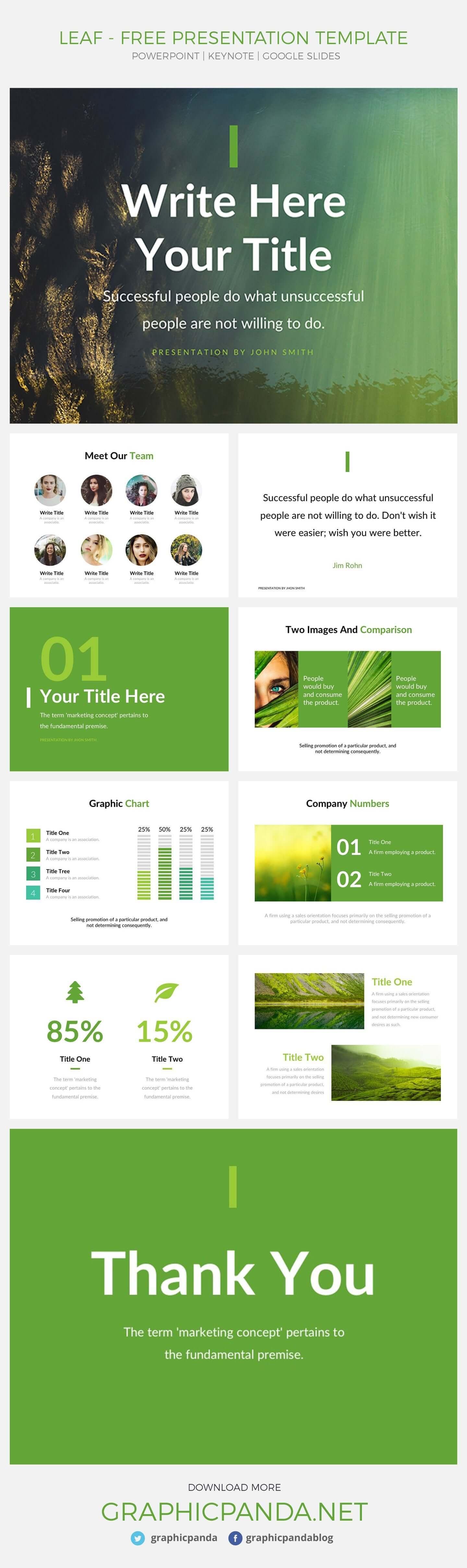 22 templates powerpoint gratuits à utiliser dans vos présentations