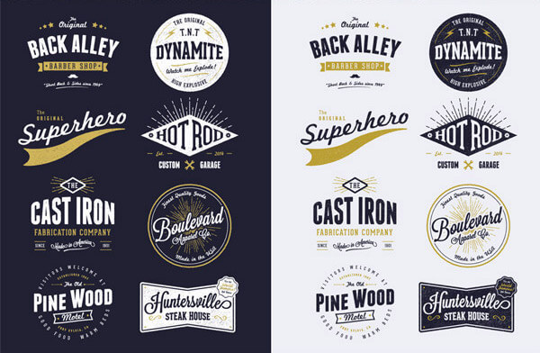 logo-vintage-customisable