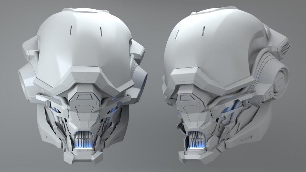 Lyrian Corneil : casque 3D