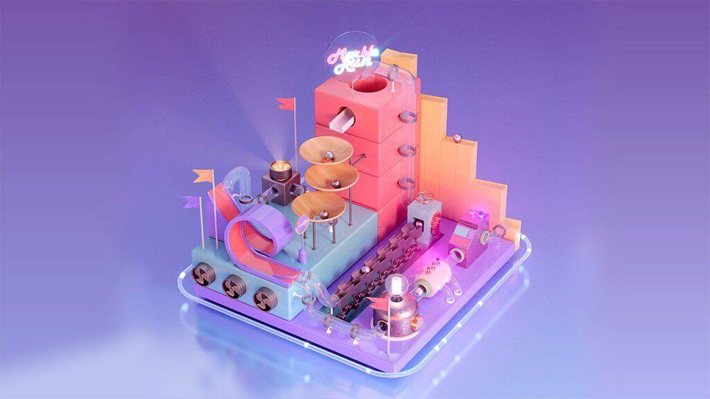 Formation Motion Design 3D