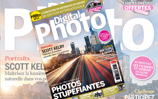 #Hottedetuto cadeau n°1 : un abonnement au magazine Digital Photo