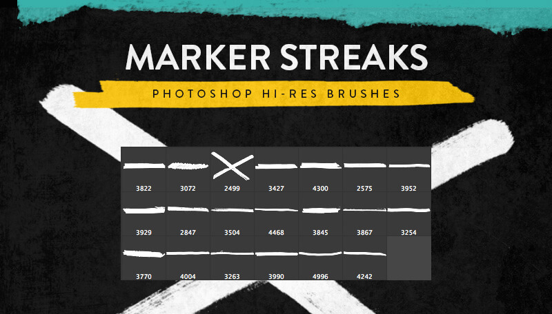 marker-streaks-brushes