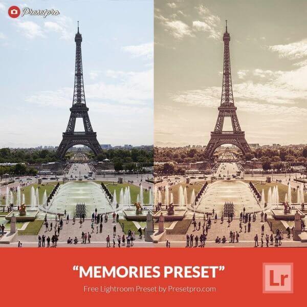 memories preset