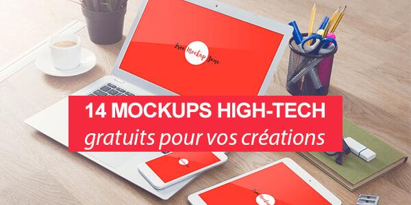 14 mockups High-Tech gratuits pour donner vie à vos créations
