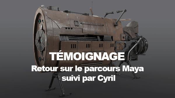 Témoignage Parcours Maya : Cyril Lavanant