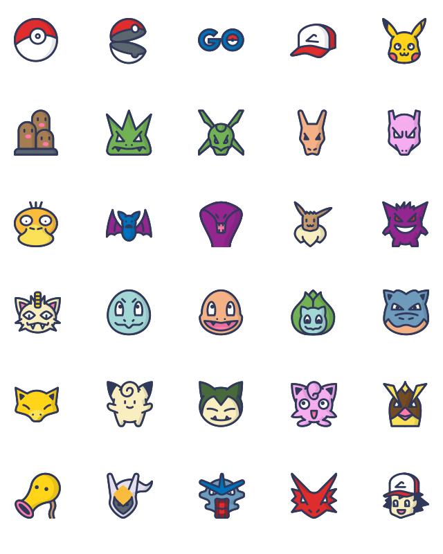 Beliebt 21 packs d'icônes flat design gratuits à télécharger - Blog Tuto.com YJ79