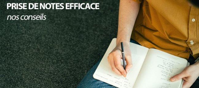 Comment faire une prise de notes simple et efficace?