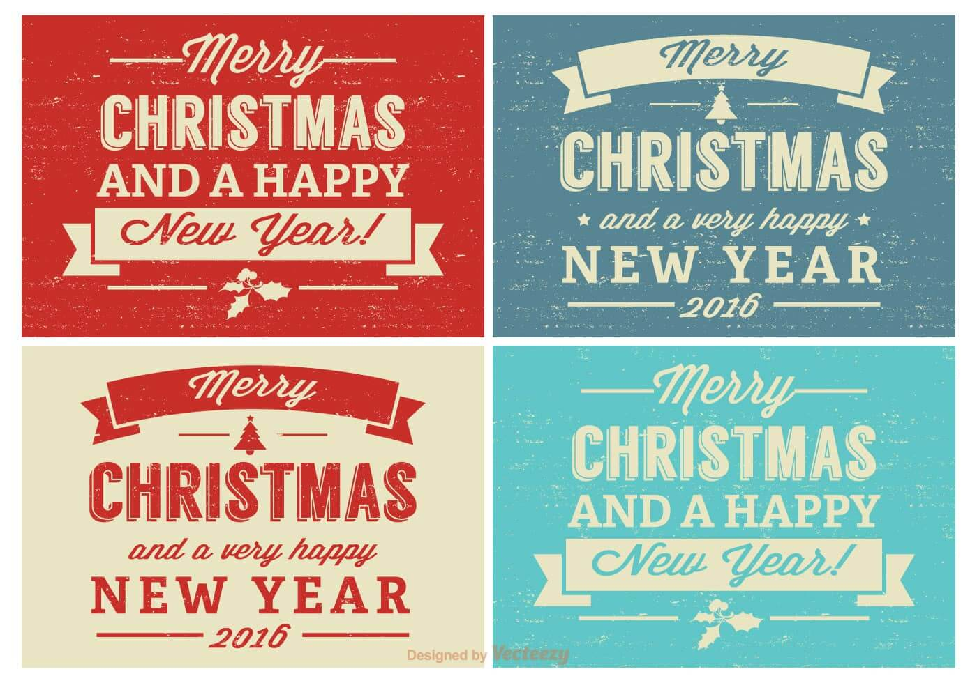 retro-distressed-christmas-label-set-vector
