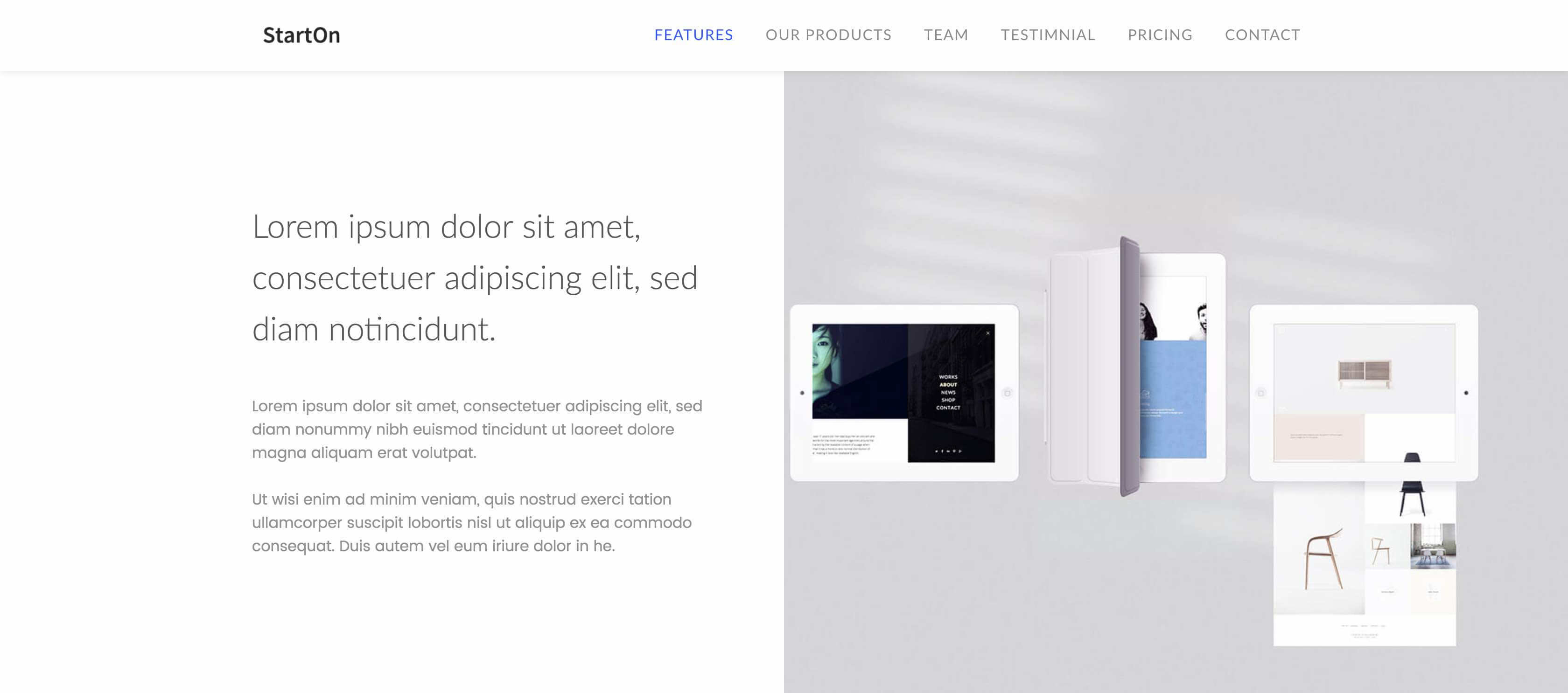 23 excellents th u00e8mes  u0026 templates bootstrap gratuits