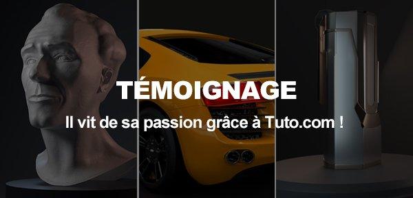Portrait de Nicolas qui vit de sa passion grâce à Tuto.com