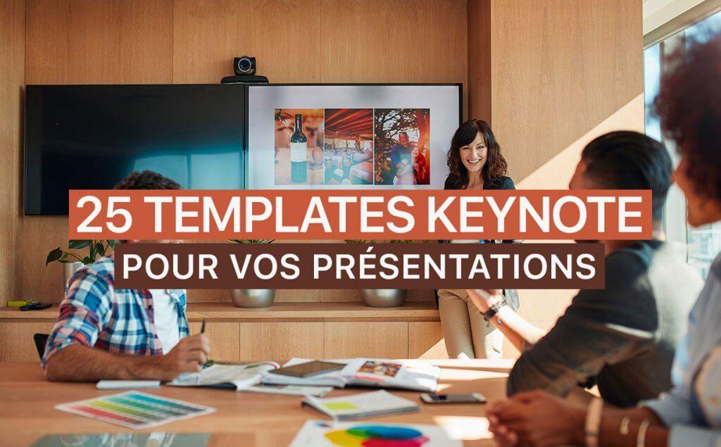 25 templates keynote pour mettre en valeur vos pr u00e9sentations