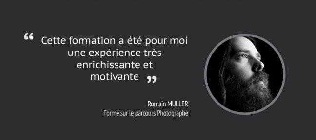 Formation Photographe : le retour de Romain Muller