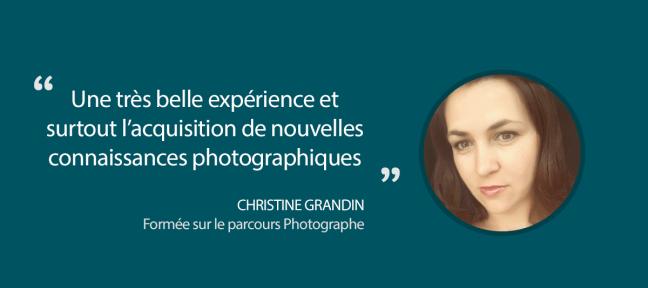 Formation photographe en ligne : le témoignage de Christine