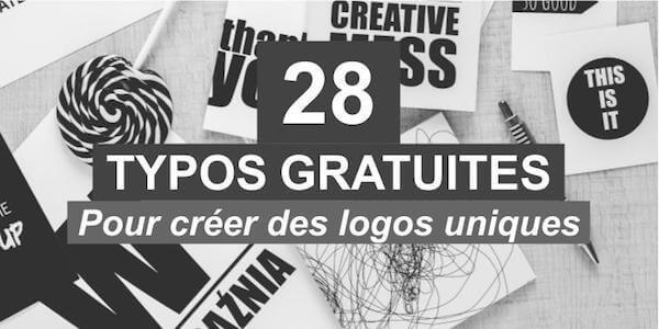 28 polices d'écriture gratuites pour créer des logos uniques