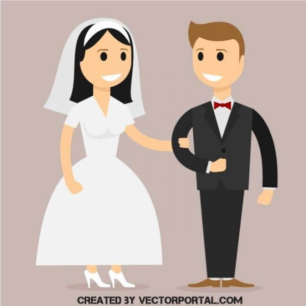vecteur mariage