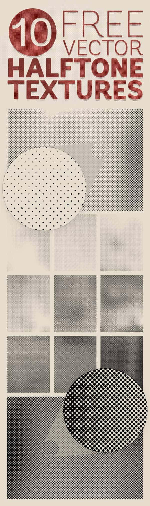 vector-halftone-textures