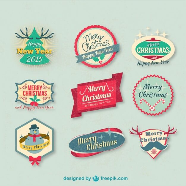 vintage-christmas-badges-pack_23-2147498451