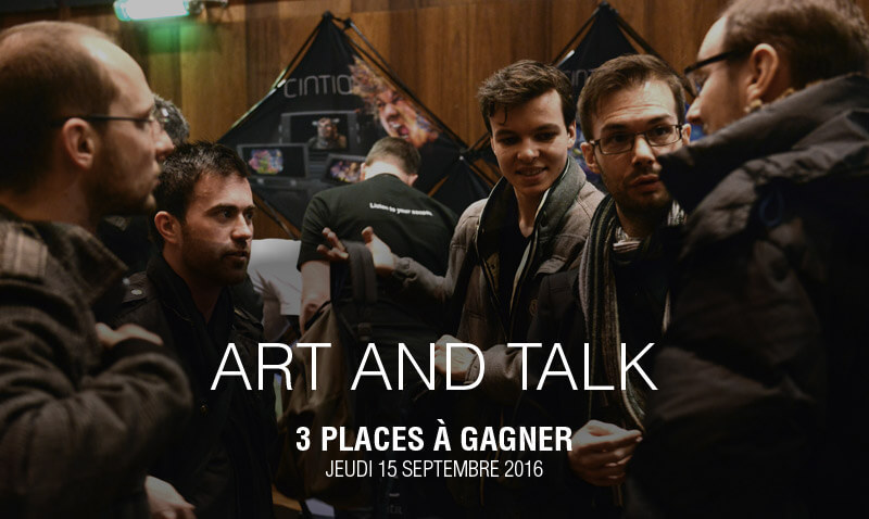 [TERMINÉ] 3 places à gagner pour participer à Art and Talk