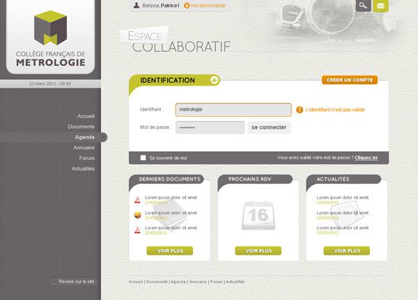 Design espace collaboratif