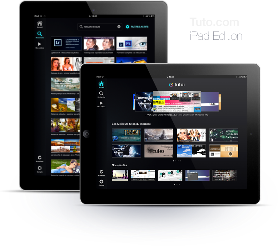 application ipad tuto.com