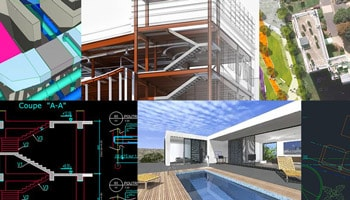 Illustration Formation Architecture 3D MEP BIM